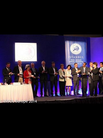 George Bazinas receives an EU Study achievement award