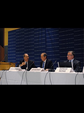 George Bazinas presented on Greek Sovereign Debt at the International Insolvency Institute