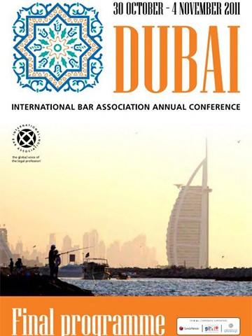 Yiannis Sakkas presented on Greek Sovereign Debt at the International Bar Association Annual Conference